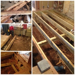 pier and beam complete repair